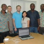 IQUEST team (Ghana Water Company Limited and University of Miami)