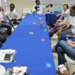Humans vs. Mosquitoes at Let's Adapt workshop in Barbados, June 2014